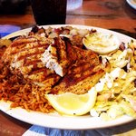 Grilled Opah ~ so delicious! Fast and friendly service ~ very reasonable ~ large portions ~