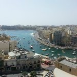Spinola Bay view from roof