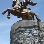 Statue to a hero of the Tay Son rebellion, Emperor Nguyen Hue