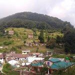 beautiful nainital view from hotel