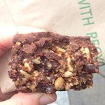 Vegan Chocolate Square.....Yummmyy! So glorious!!