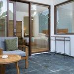 Nyalian Room downstairs balcony