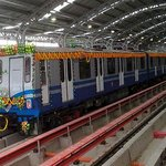 Innaugration of Metro at Kavi Subhash
