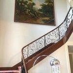 Escalier pour accéder au 1er étage