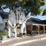Historic Cape Dutch architecture in central Hermanus