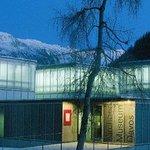 Winteraufnahme Kirchner Museum Davos, Aussenansicht
