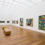 Innenansicht Kirchner Museum Davos