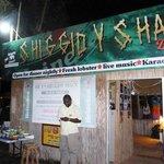 Shiggidy Shack at night