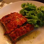 lasagna was god
