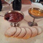 biscottini della casa con varie  specialita di cnfetture