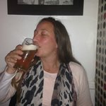 One of the beers being enjoyed!