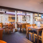 Our restaurant mixes history and seafaring themes with a great environment to enjoy a meal