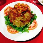 Shrimp Mofongo Dish - Very Tasty and Filling!