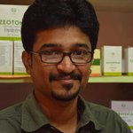 Dr Jithin in his office :)