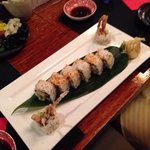 Soft sell crab sushi roll