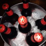 Ice cold bucket of beer!