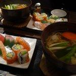 Udon & Sushi Combo