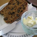Tasty Tea Loaf with butter