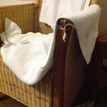 fraying towels