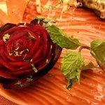 beetroot rose