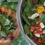 Salad and Pizzetta!