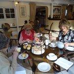 Cream tea at the Sheene Mill