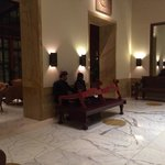 traditional music in the hall way next to the lounge