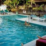 poolen på hotellet