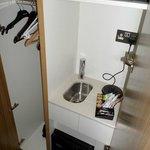 Cute kitchen in a cupboard!
