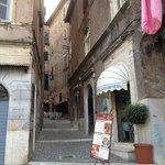 Nice little quiet street but close to Temple Vesta