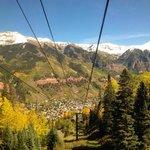 Gondola Ride down to Telluride