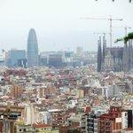 View of the city from Jardins de Turo Putxet.