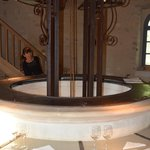 The Chateau de Reignac Tasting Room - in a converted Pigeon House