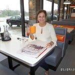 Karen, our very first customer