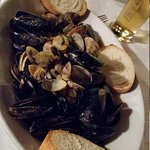 mussels and clams zuppa