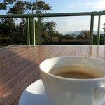 Café en terrasse vue mer