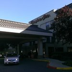 Easy freeway access to hotel