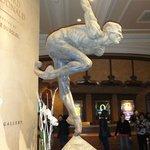 Escultura no Bellagio