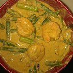 red shrimp curry