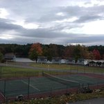 Tennis Court and Personal Cabins on Green Lake