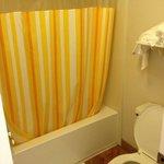 Bathroom was very clean. Water pressure in the shower was wonderful.
