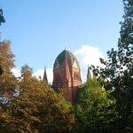 Kirche zum Heiligen Kreuz ... my landmark for Hotel Johann!