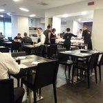 Breakfast Area at Holiday Inn Milan Nord-Zara