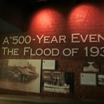 There was a great exhibit on the flood of 1937 in Paducah