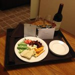 Apology Wine & Cheese Plate :)