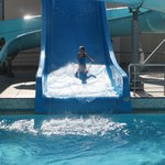 Water slide.. Fun for all kids and adults.