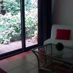 Chambre Salon avec terrasse nature
