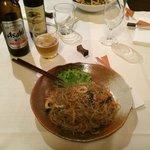 Spaghetti di patate coreani