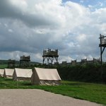 Reconstitution du camp romain
