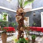 Innenhof des Riad Menzeh
